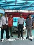 23-7-2013: Anh Dũng ở Thái Nguyên nhận VIOS G 2014 tại Toyota ThanhXuân