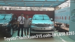 26-9-2013: Toyota FORTUNER V 2014 tới tay anh Nguyễn Văn Giang tại NghệAn